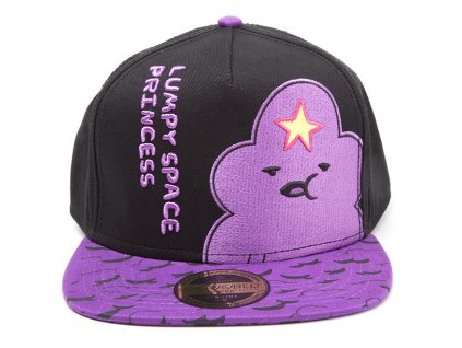 1550 adventure time czapka z daszkiem lumpy space princess with printed bill
