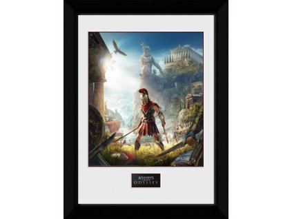 2564 assassins creed odyssey plakat w ramce key art