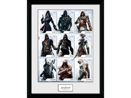 2690 assassins creed plakat w ramce compilation