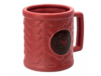 game of thrones mug 3d targaryen x2