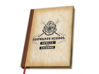 harry potter a5 notebook hogwarts school x4