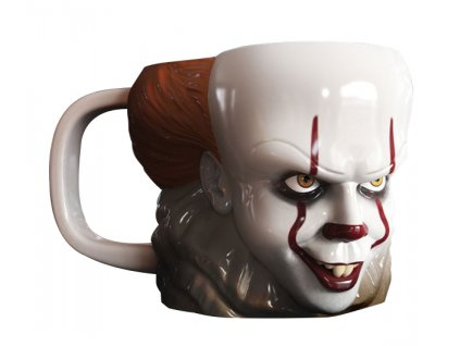 ca pennywise shaped mug2