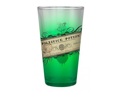 harry potter large glass 400ml polyjuice potion x2 (1)