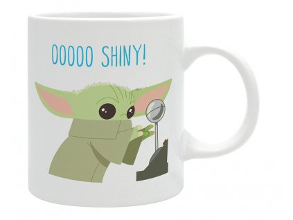 the mandalorian mug 320 ml baby yoda chibi subli x2