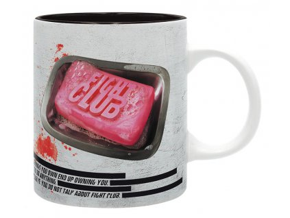 fight club mug 320 ml rule 1 subli with box x2