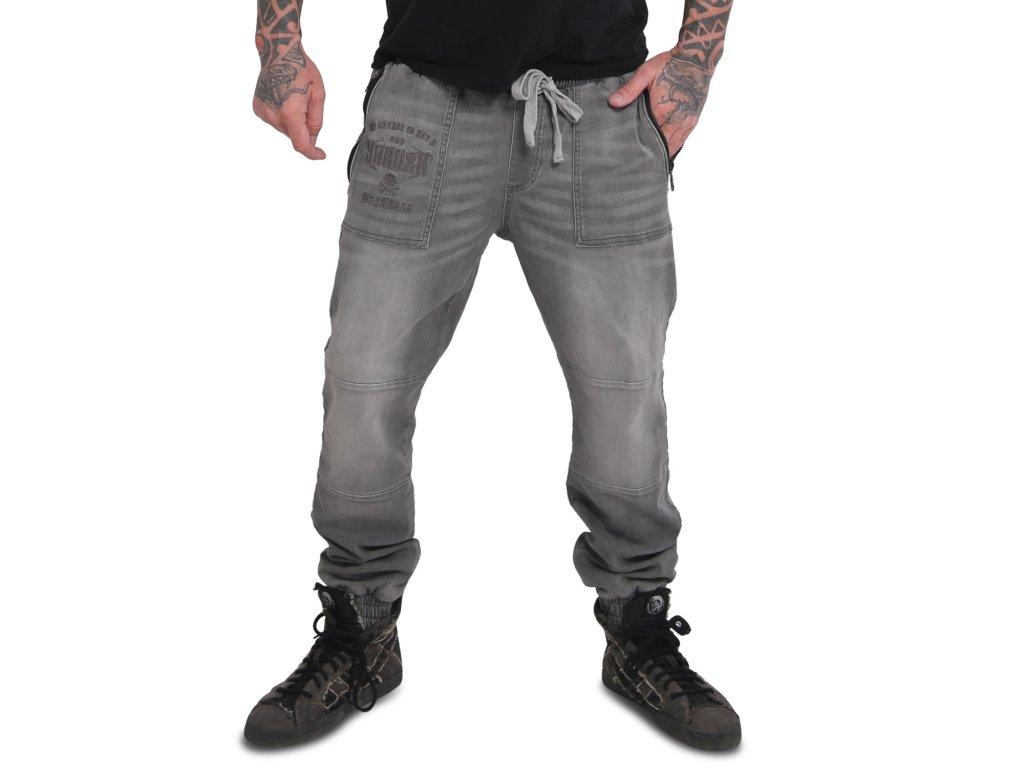 Yakuza Ink. - sport jeans Turnt 16069 grau