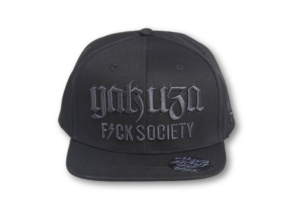 Yakuza Ink. - snapback kšiltovka Society 15310 schwarz