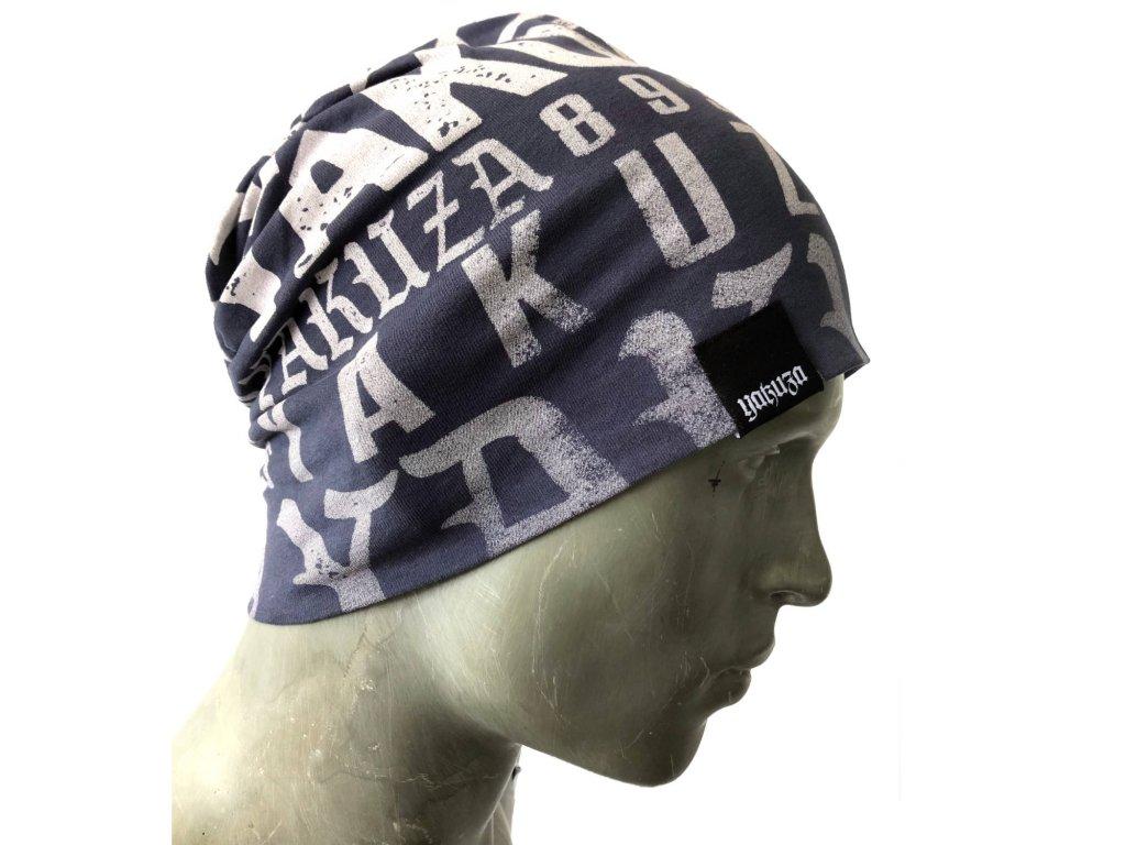 Yakuza Ink. - zimní čepice 893Allover 15315 blau