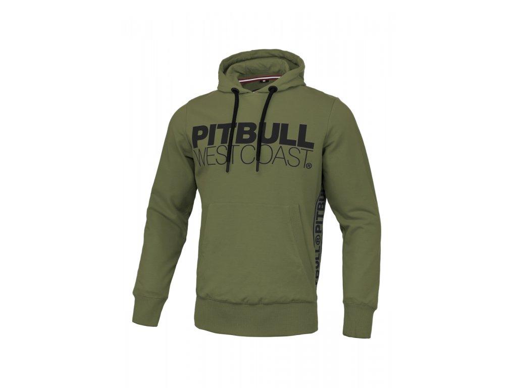 pitbull west coast panska kp mikina french terry tnt olivove zelena (1).217084881