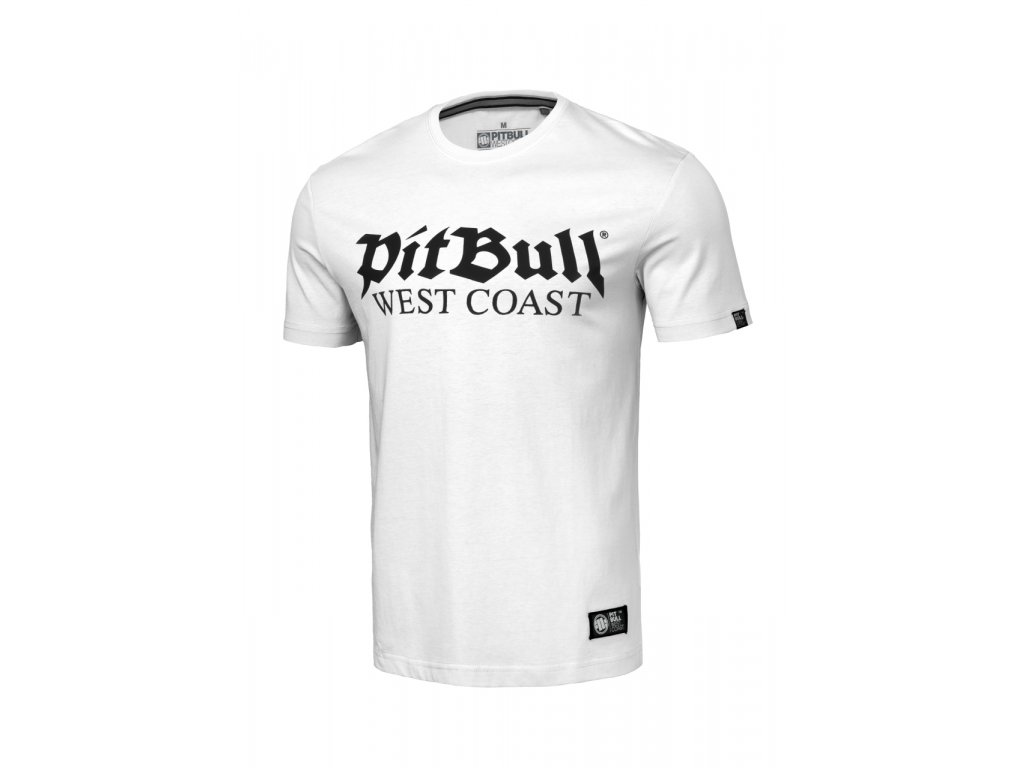 pitbull west coast panske triko old logo bile (1).217084881