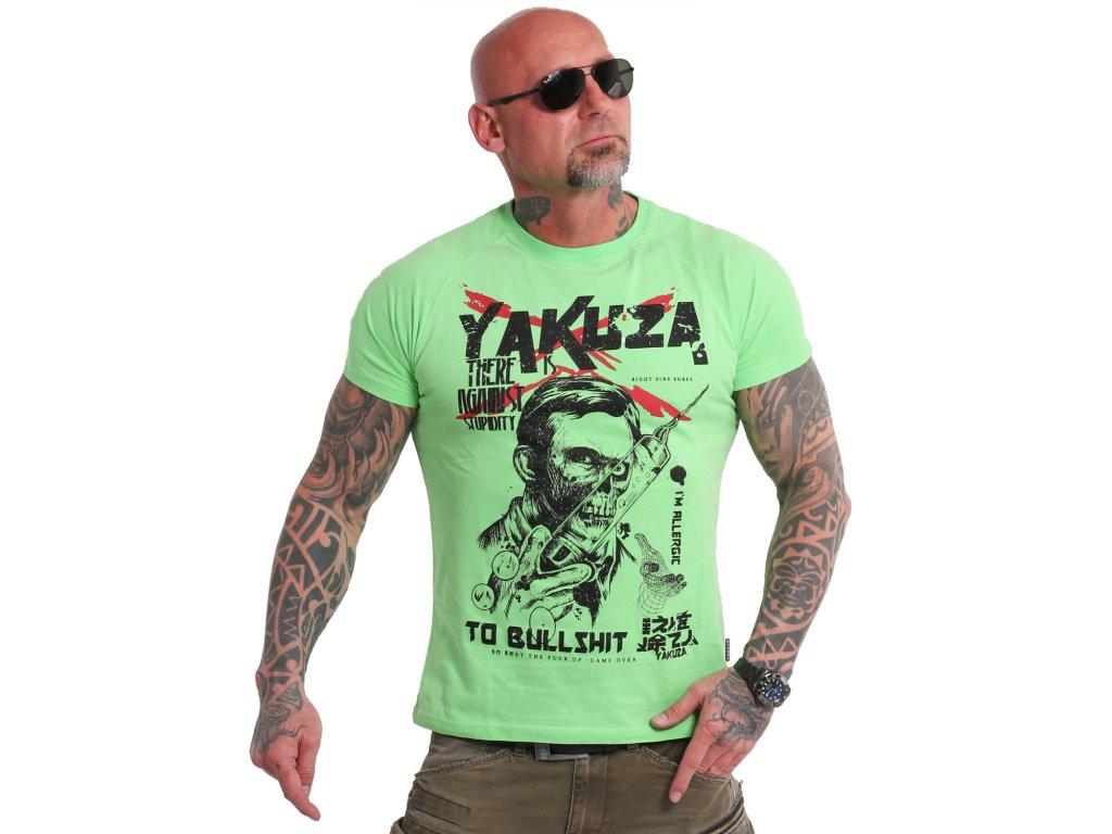 Yakuza Ink. - triko Stupidity 18048 green