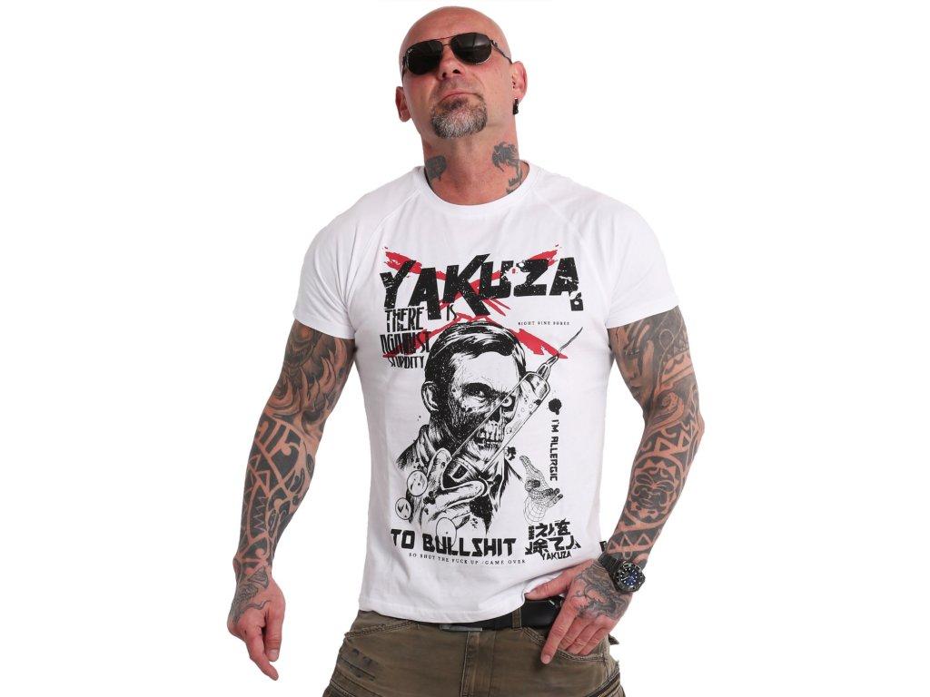 Yakuza Ink. - triko Stupidity 18048 white
