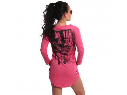 Yakuza Ink. - dámské triko šaty Feather Rose 18155