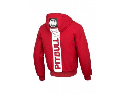 pitbull west coast panska zimni bunda cabrillo cervena 2.217084881