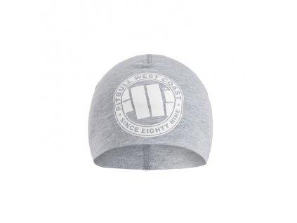 pitbull west coast zimni cepice big logo sedy melir 1.217084881