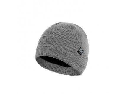 pitbull west coast zimni pletena cepice small logo seda 1.217084881