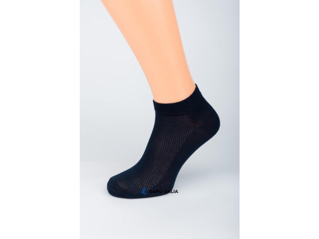 Kotníkové ponožky CYKLO SPORT síťka 5ks