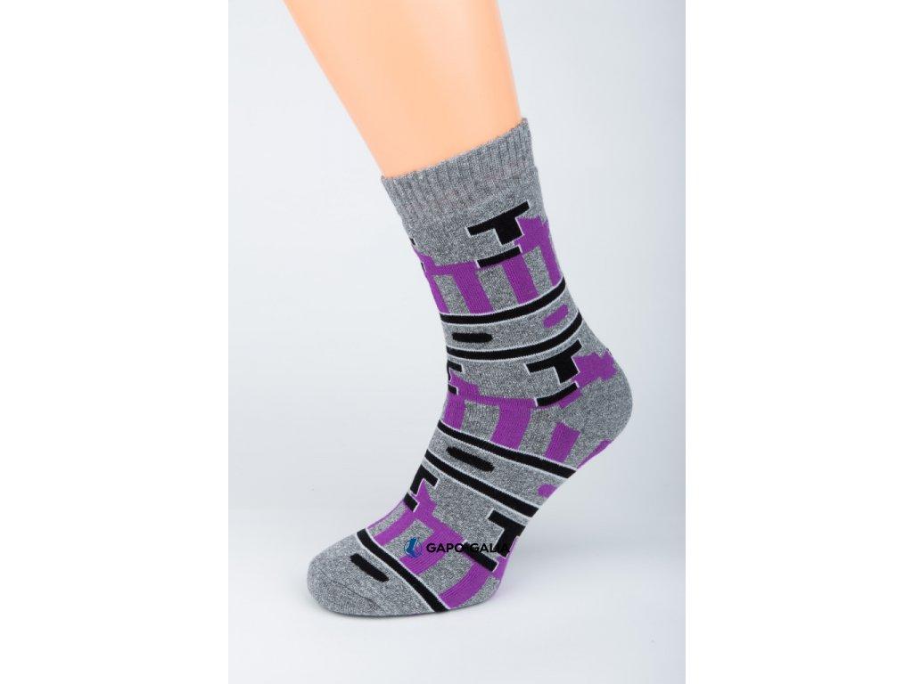 Zimní ponožky STYLE 5 ks