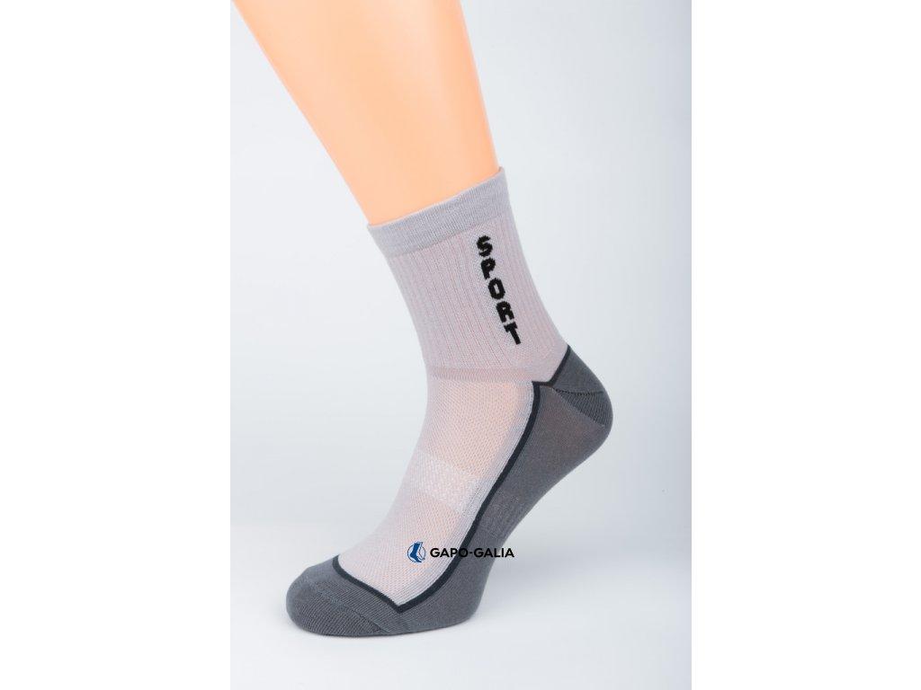 Sportovní ponožky SPORT TMAVÁ 5ks