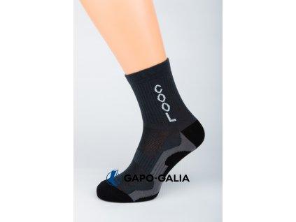 Sportovní ponožky COOL TMAVÁ 5ks