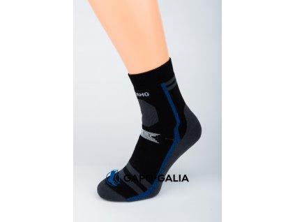 Zimní ponožky GAPO TMAVÁ 5 ks