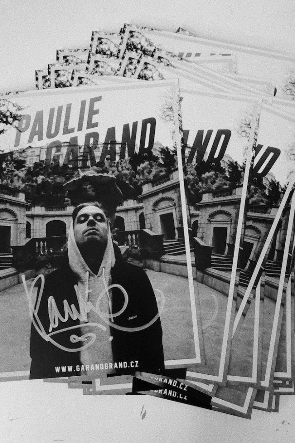 Podepsaná karta Paulie Garand