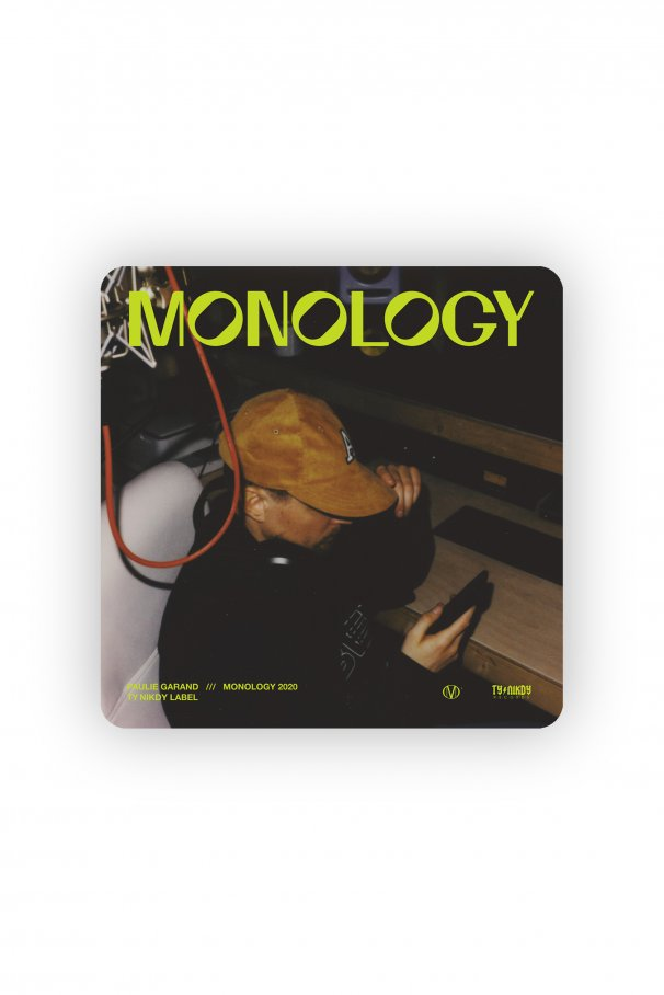 CD PAULIE GARAND - MONOLOGY