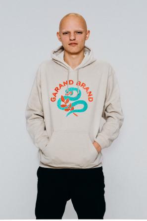 hoodie snake sand1