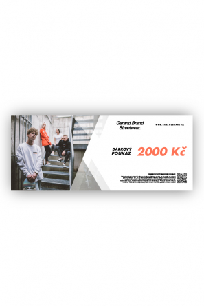 DÁRKOVÝ POUKAZ - 2000KČ