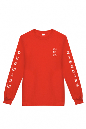 SS 17 - LONGSLEEVE GARAND PREMIUM RED