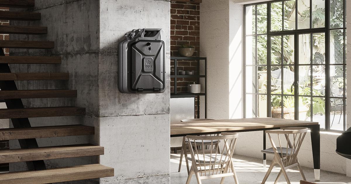Industriální styl bydlení - průmyslové dekorace do interiéru