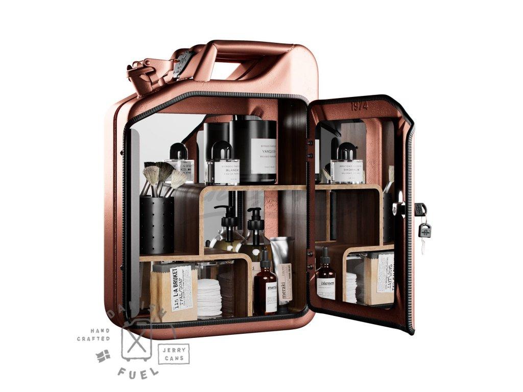Unisex Cabinet Copper full