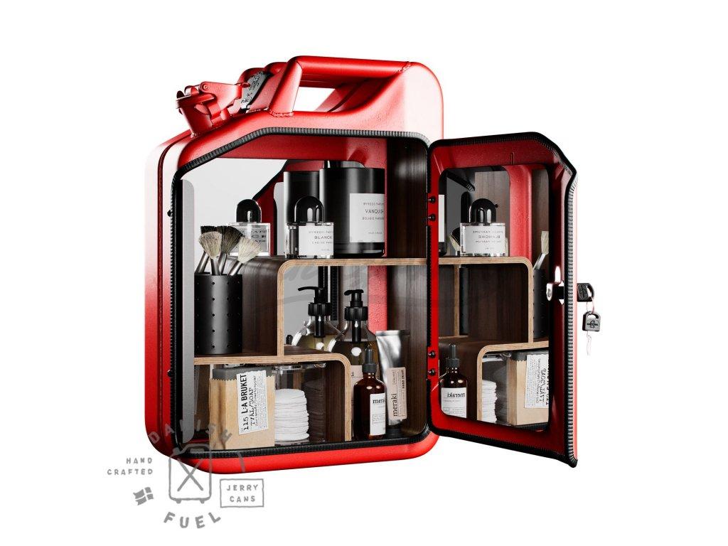 Danish Fuel Unisex Cabinet Gas Red full 1