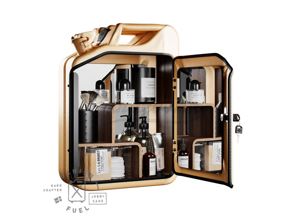 Danish Fuel Unisex Cabinet Gold full 1