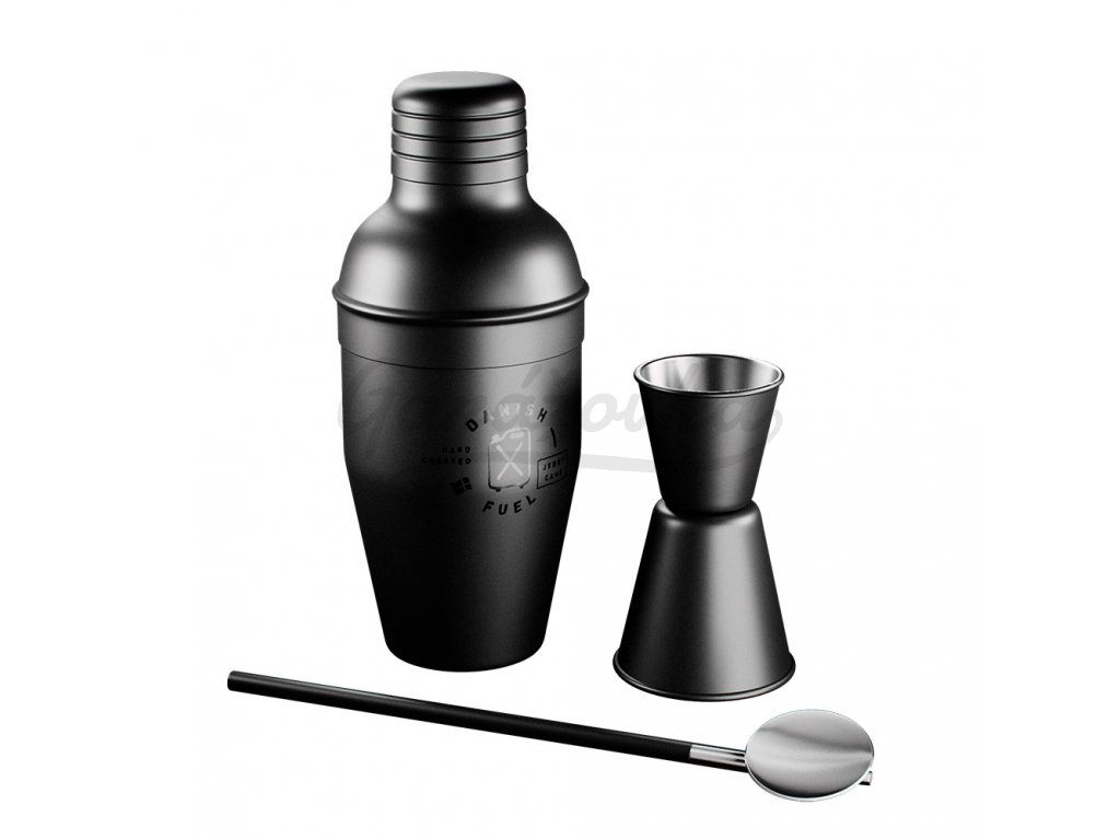 Danish fuel design Bar Shaker set unboxed