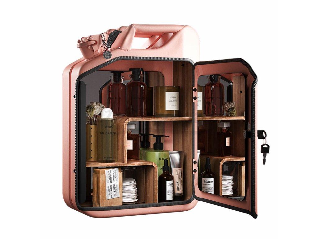 Danish Fuel Rose Bathroom Cabinet