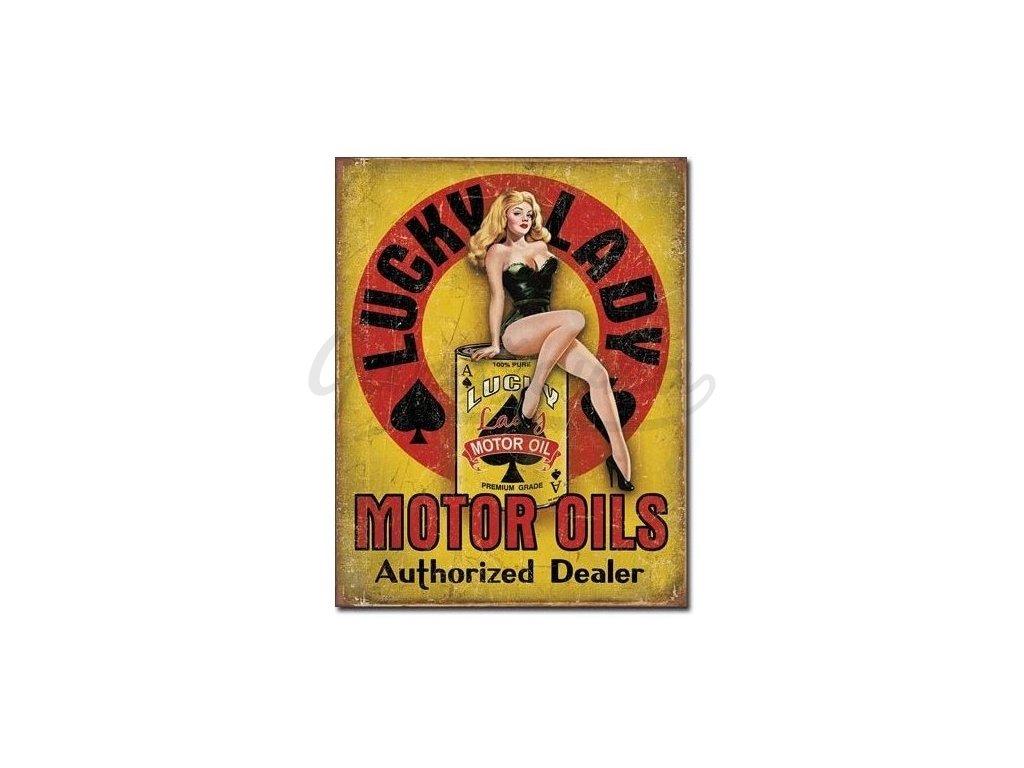 lucky lady motor oil