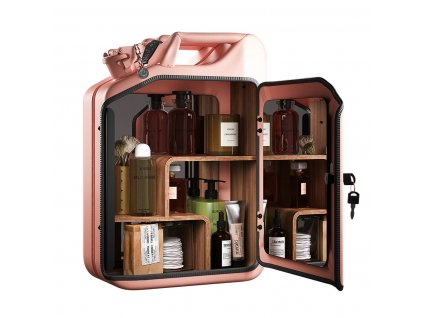 Danish Fuel Rose Bathroom Cabinet