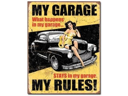cedule my garage my rules