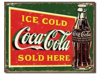 coca cola ice cold green