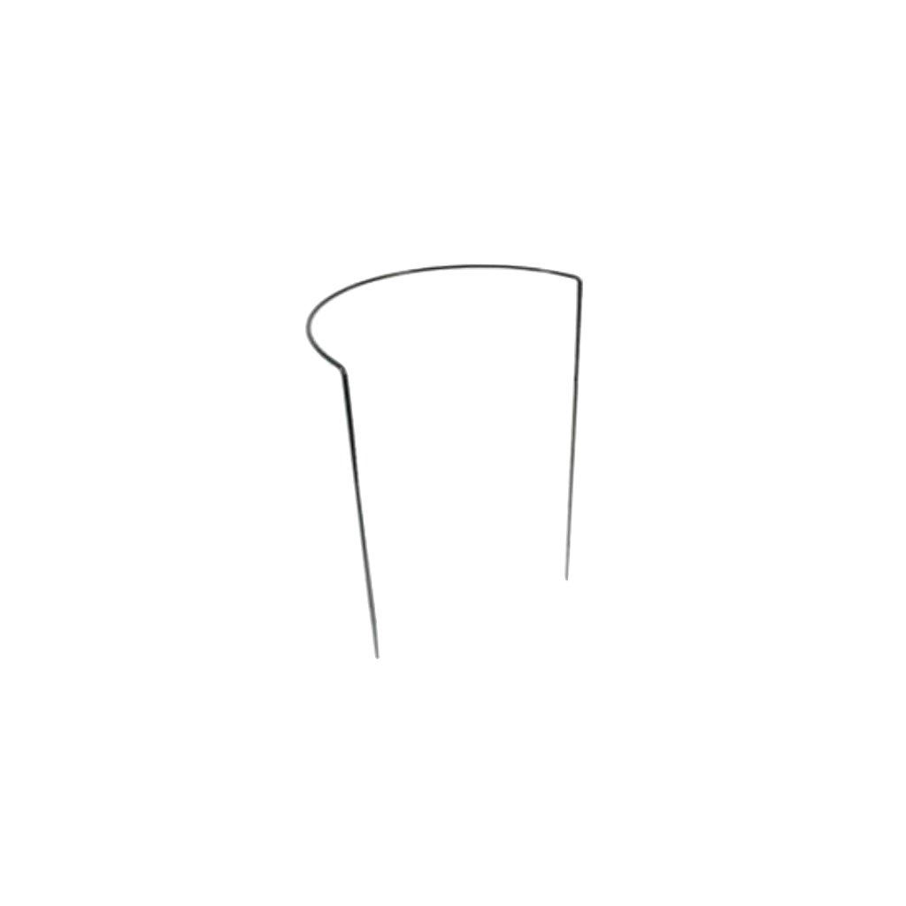 Půlkruhová opora pro rostliny, ø 39 cm, zelená
