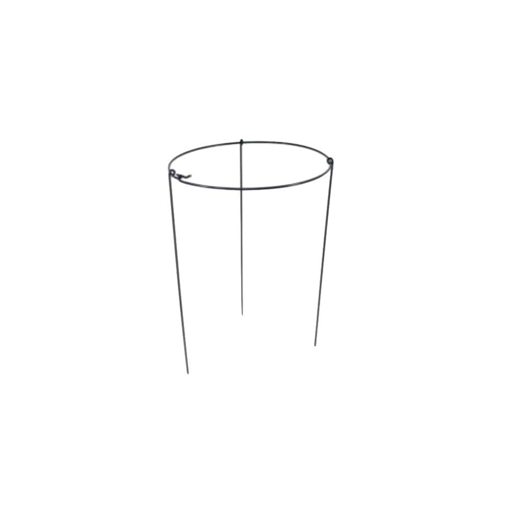 Kruhová opora pro rostliny, ø 35 cm, zelená  výška 60 cm