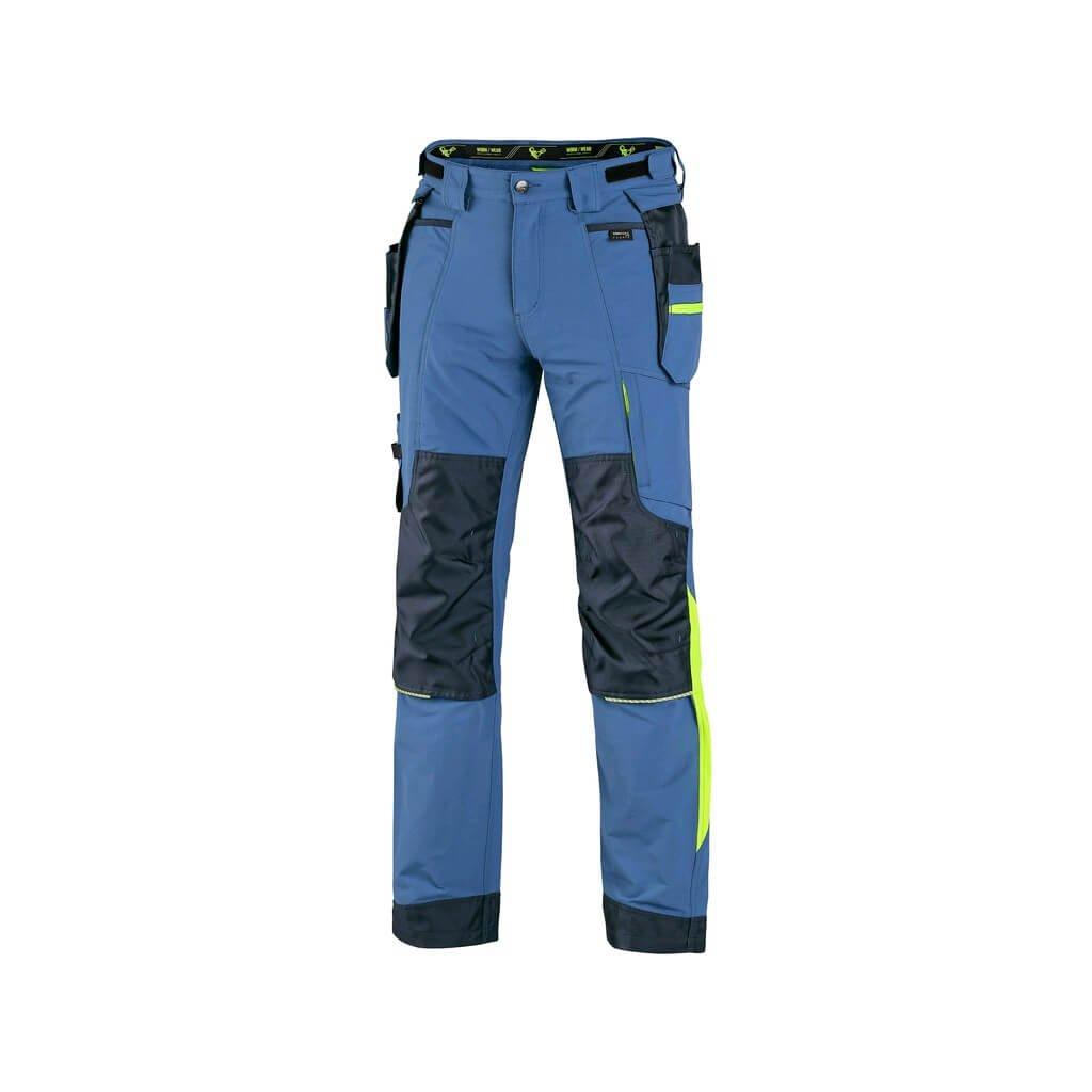 kalhoty naos modre