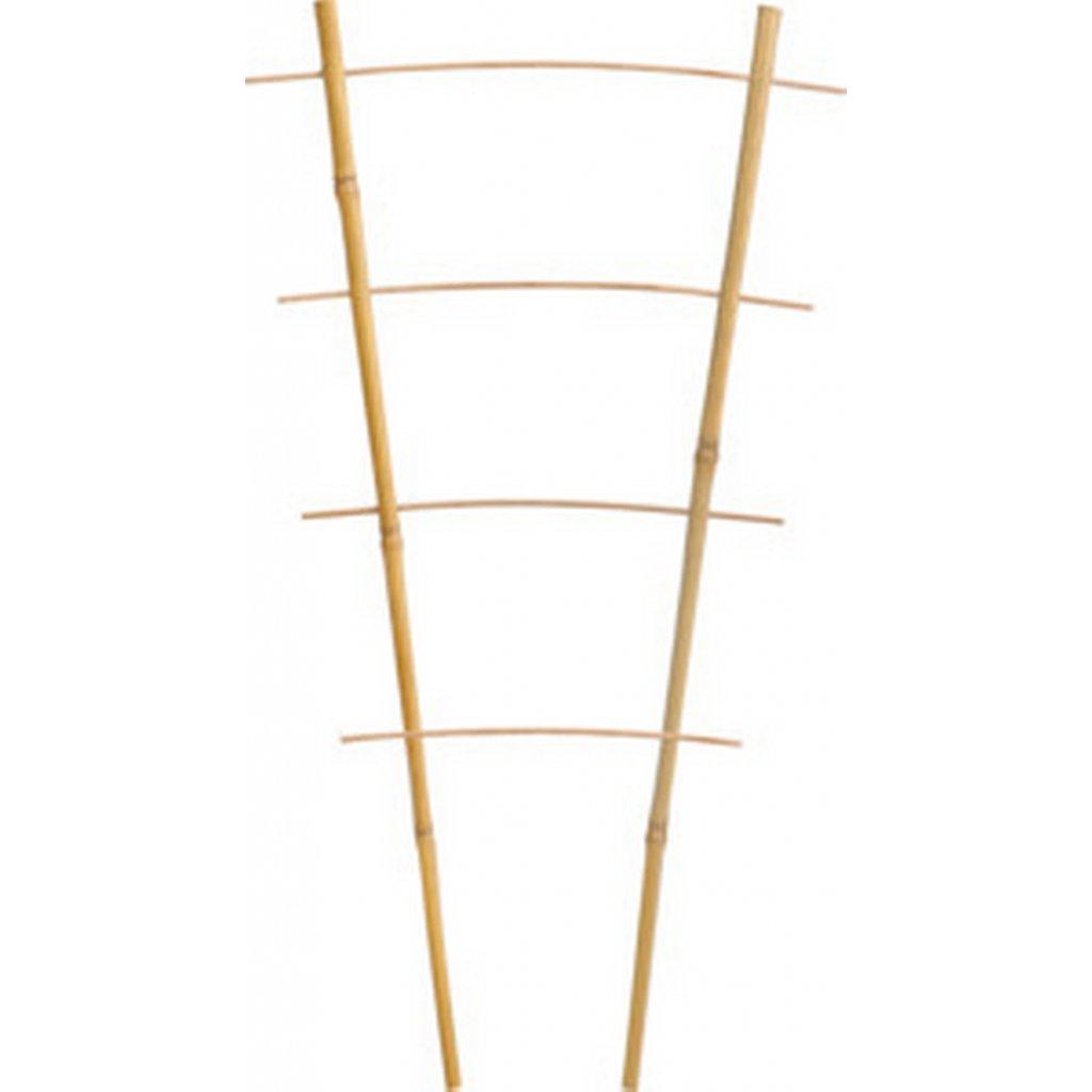 bambusova opora pro rostliny dvojita 43cm