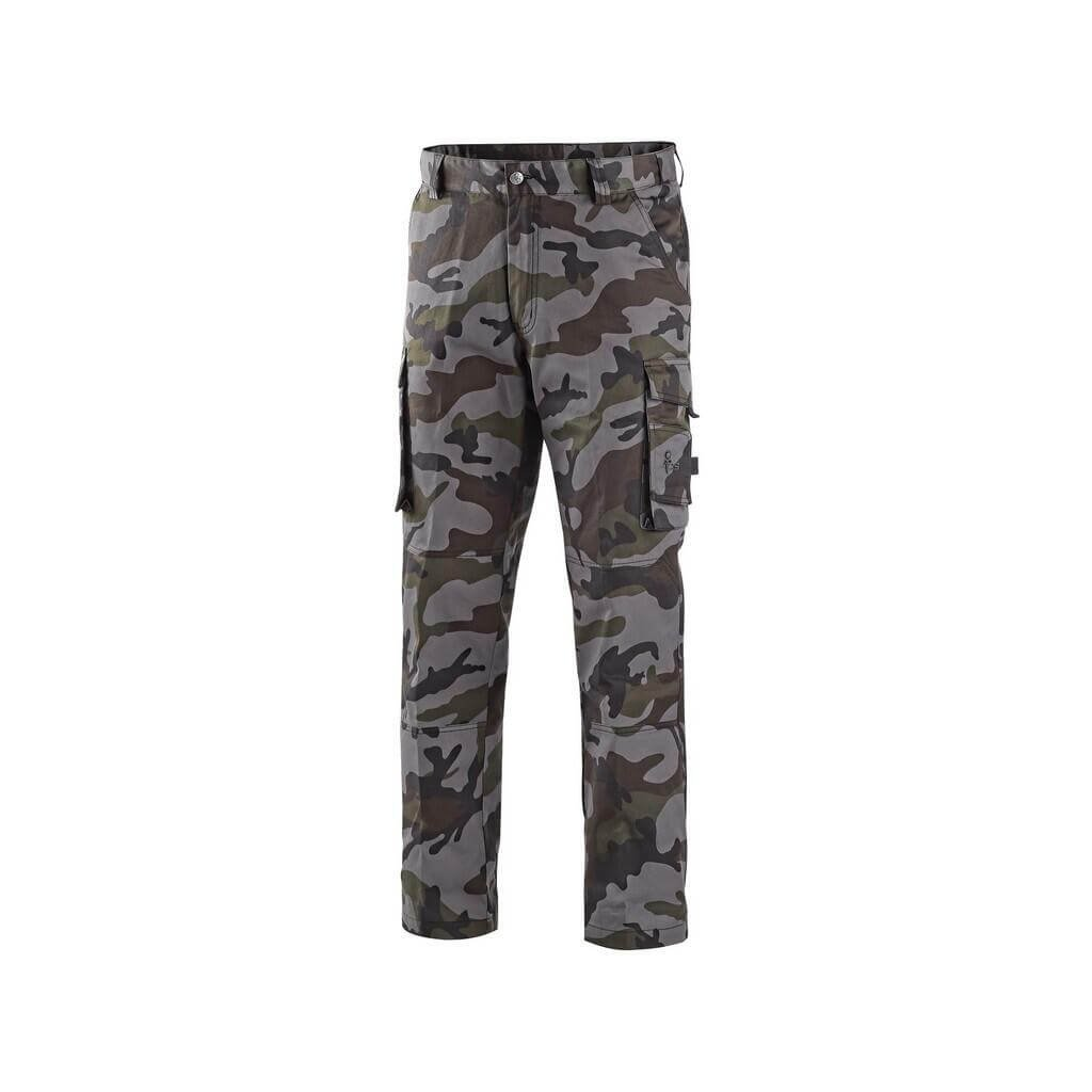 kalhoty camo