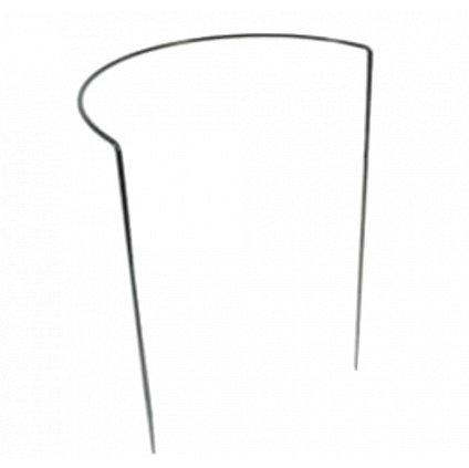 Půlkruhová opora pro rostliny, ø 39 cm, zelená  výška 35 až 100 cm