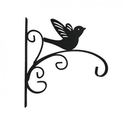 věšák na kvetinace ptacek