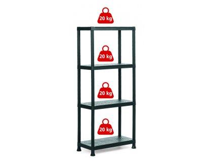 009503 Plus Shelf 60 4 20kg
