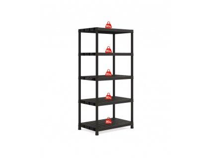 9505000 Plus Shelf XL5 BK 2