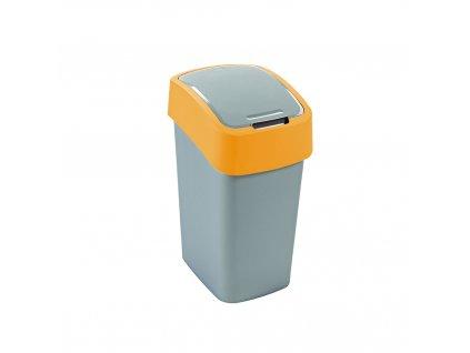 odpadkový koš - žlutý FLIPBIN 10L